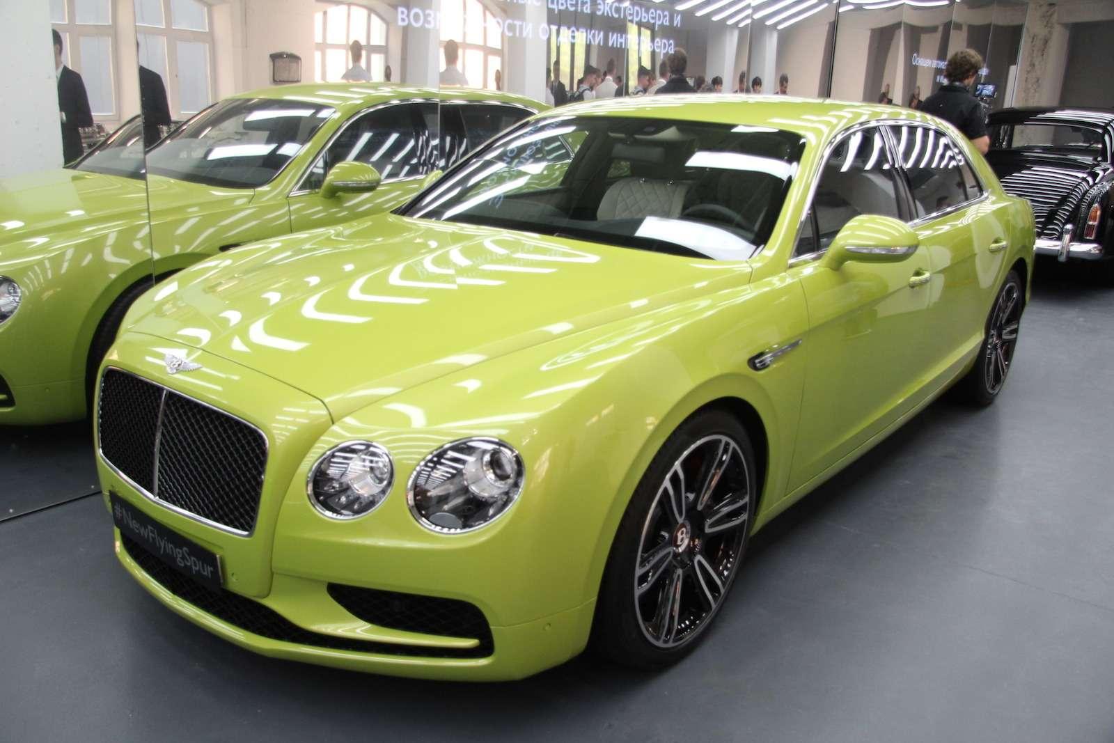 Bentley привезла вМоскву «экстраординарную» выставку— фото 593989