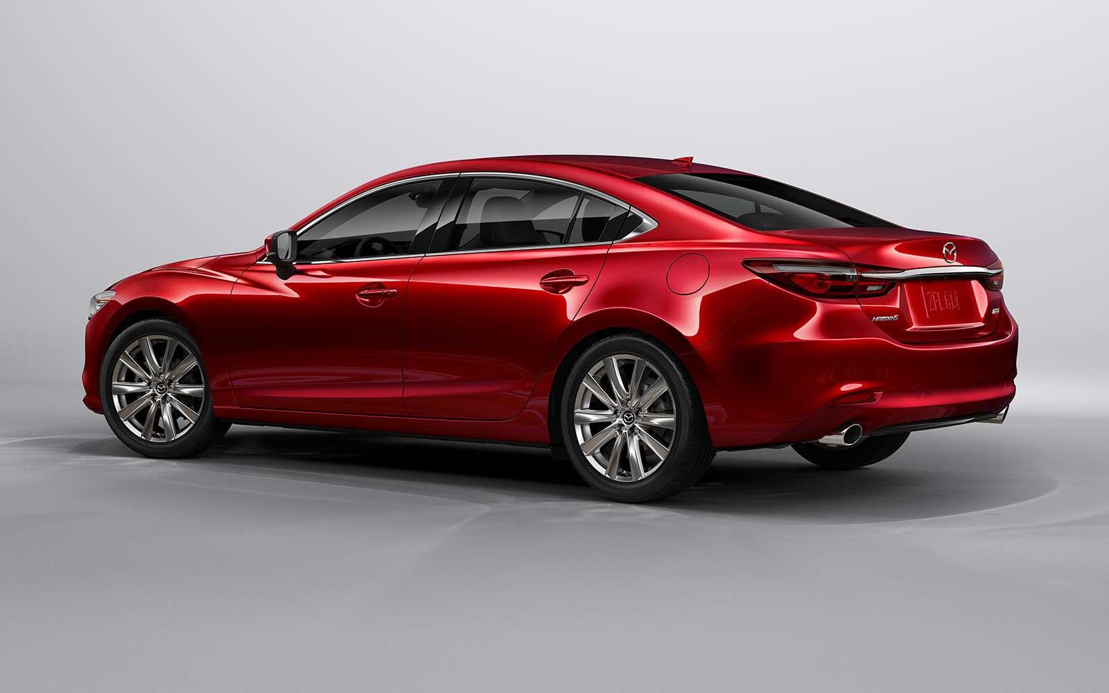 Обновленная Mazda 6— дорого ибогато— фото 821661