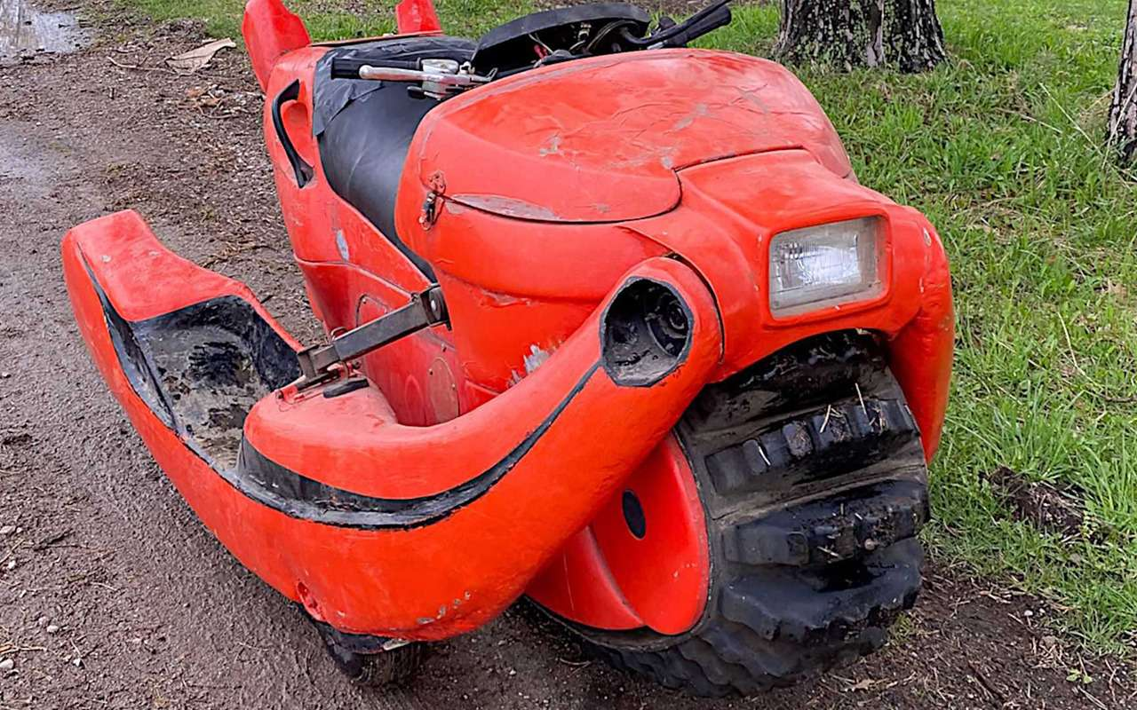 Раритетный мотовездеход-амфибия смотором Honda— фото 1250488