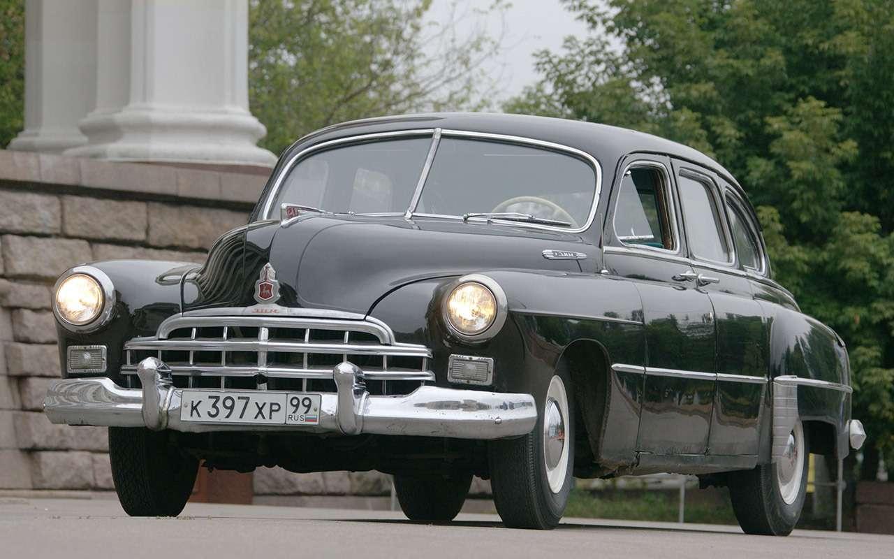 Седан дляпарткома: удивительная история ГАЗ‑12ЗИМ— фото 1172404