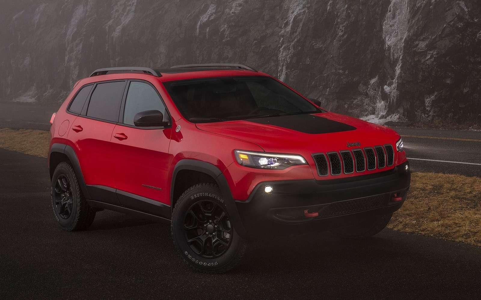 Всеобобновленном Jeep Cherokee. Когда онпоявится вРоссии?— фото 836713