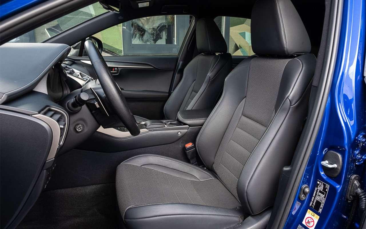Обновленный Lexus NX— первый тест-драйв— фото 864451