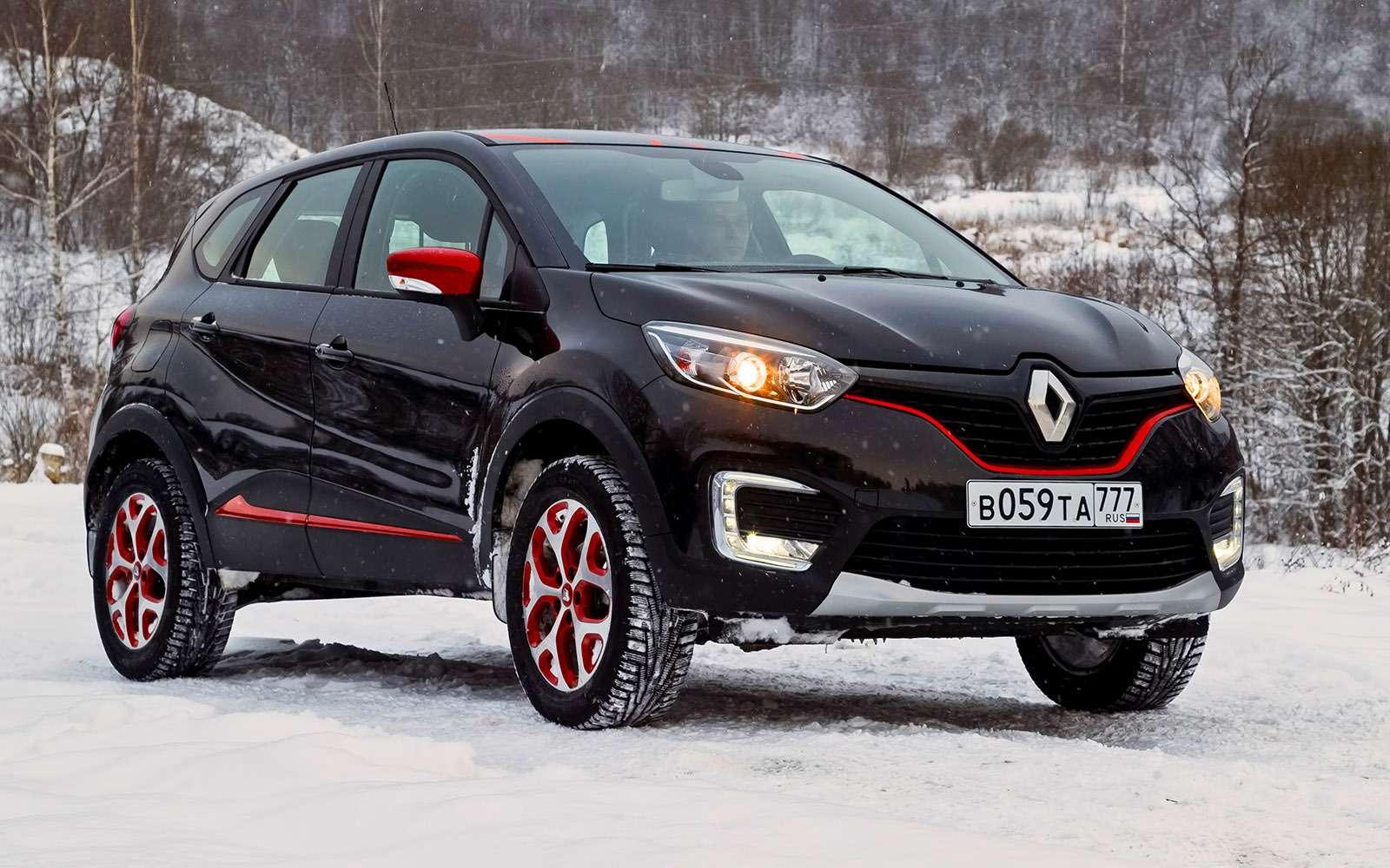 Renault Kaptur изпарка ЗР: зимние расходы— фото 700130