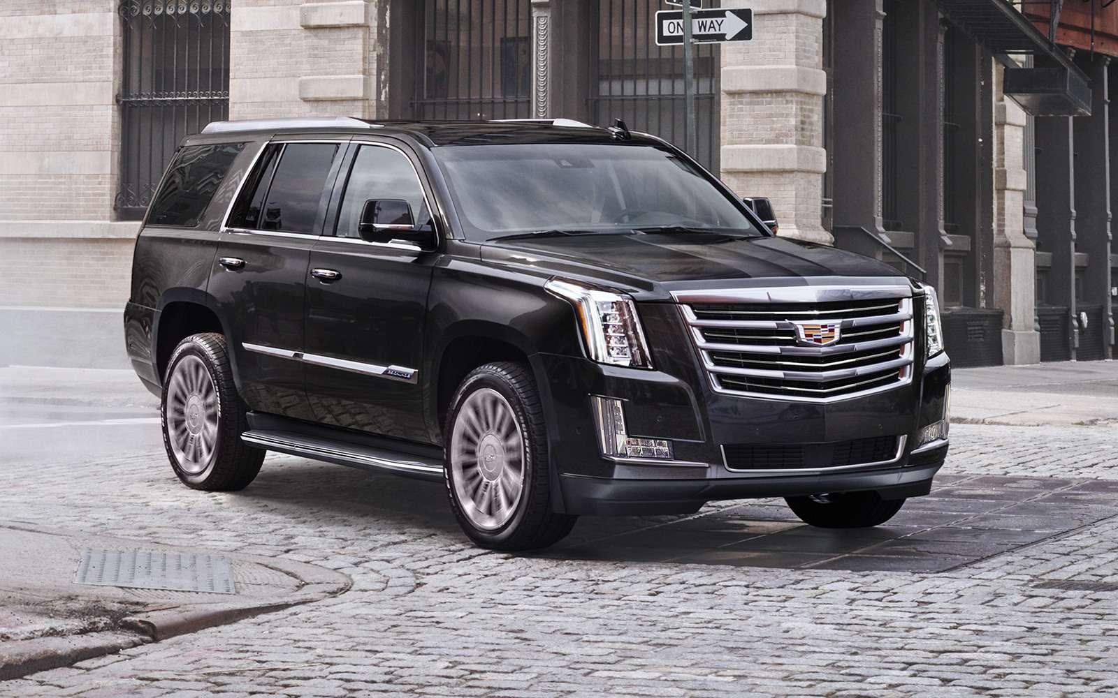 Cadillac привез вРоссию недообновленный Escalade— фото 840827