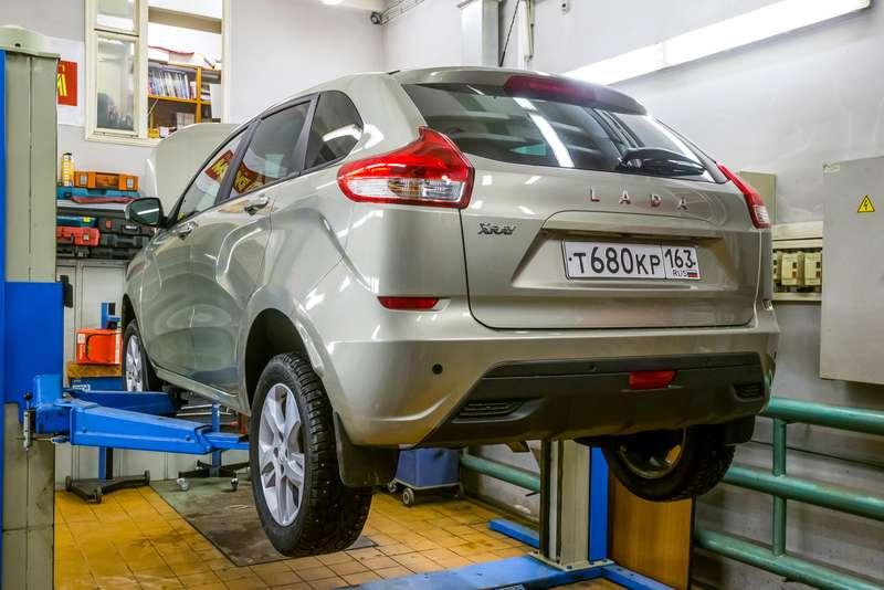 Экс-таз: как Lada XRAY показал себя втесте наремонтопригодность