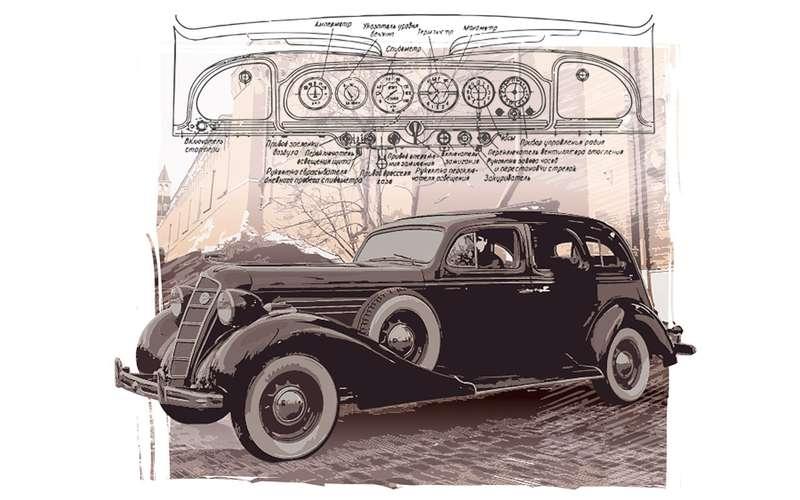 Загадка: сколько прикуривателей было впервом советском лимузине?