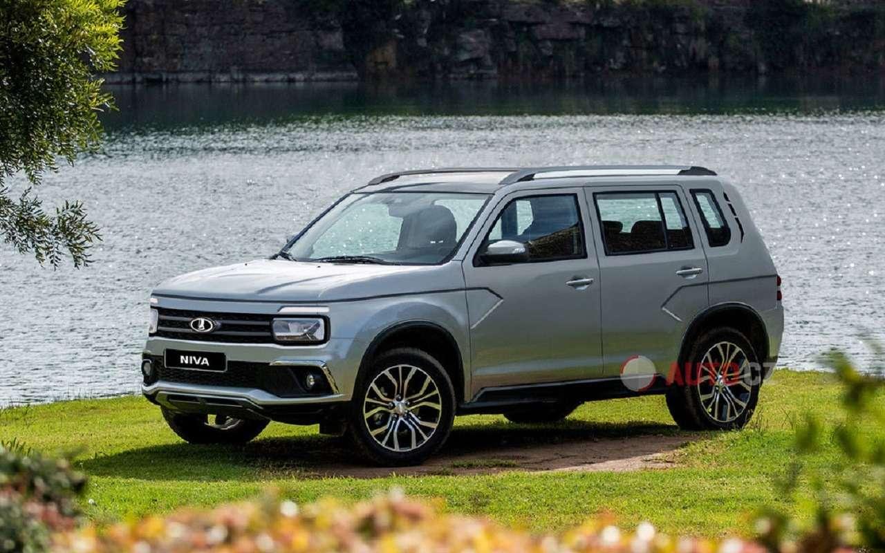 Новые рендеры следующего поколения Lada 4x4 Niva— фото 1119822