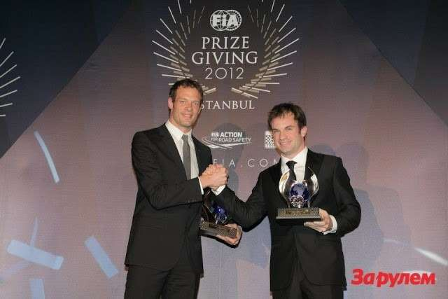 FIAWORLD ENDURANCE CHAMPIONSHIP— 3rd Overall— Alexander Wurz & Nicolas Lapierre