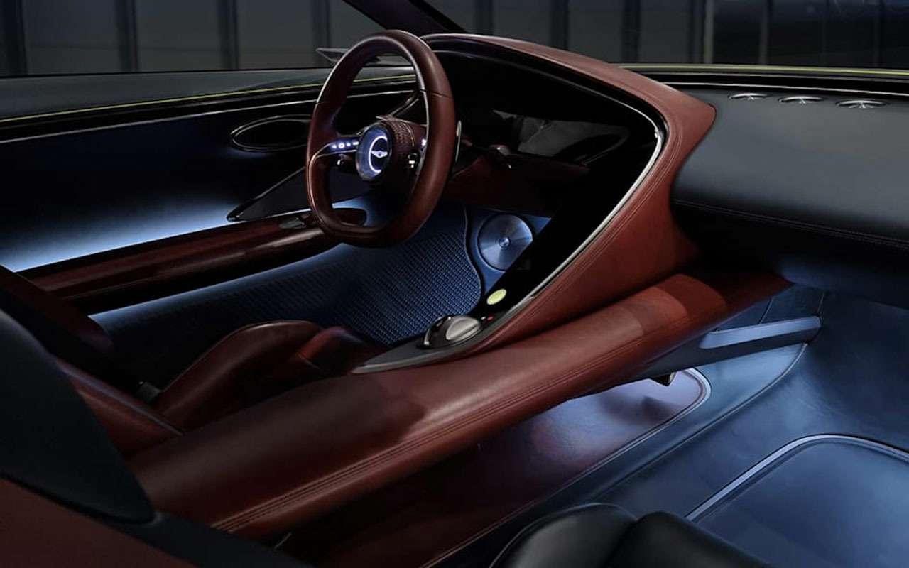 Genesis представил эффектное купе— фото 1235560