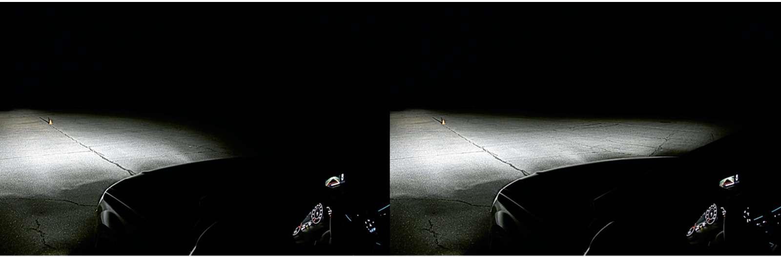 Супертест светодиодных фар: какая из10машин заглянет дальше?— фото 601106