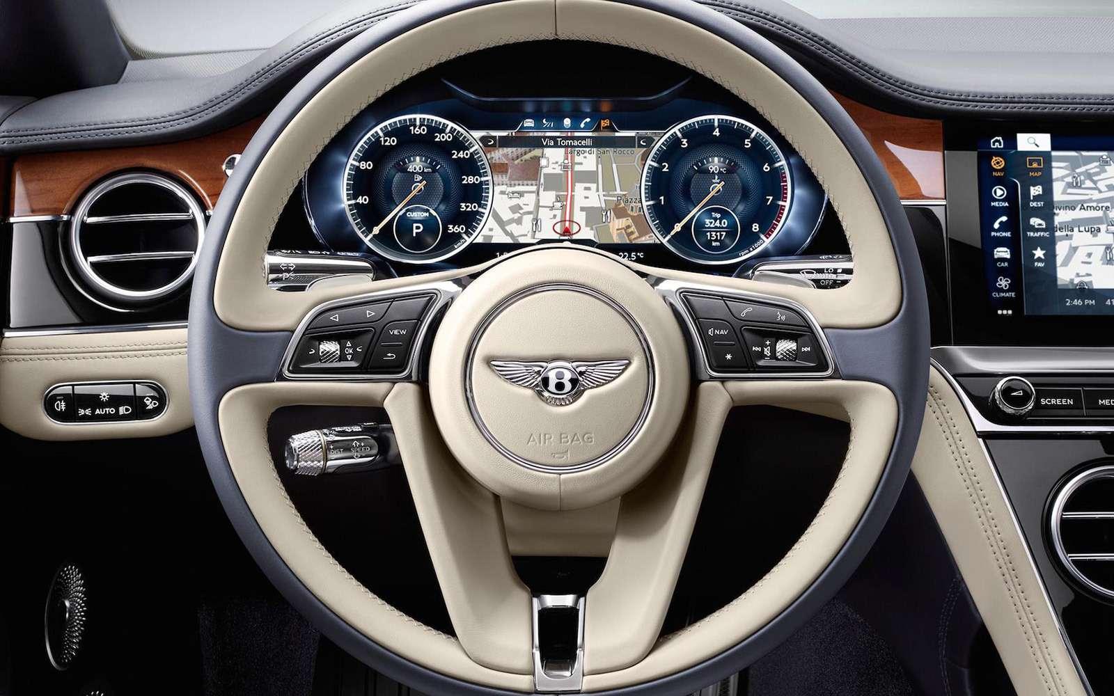 Новый Bentley Continental GT: двухдверная Panamera по-британски— фото 789205