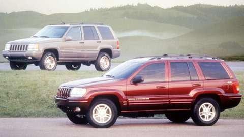 no copyright Jeep Grand Cherokee Recall