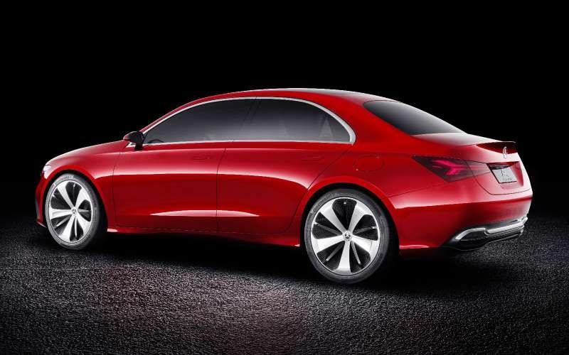 Прямолинейная чувственность: Mercedes-Benz Concept ASedan дебютировал вШанхае