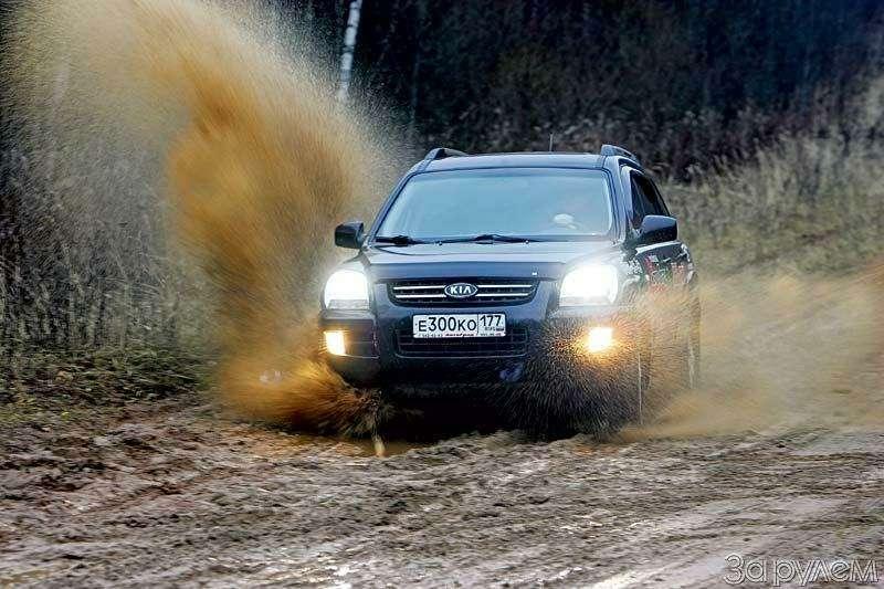 Тест Jeep Compass, Kia Sportage. Смешать, ноне взбалтывать— фото 70576