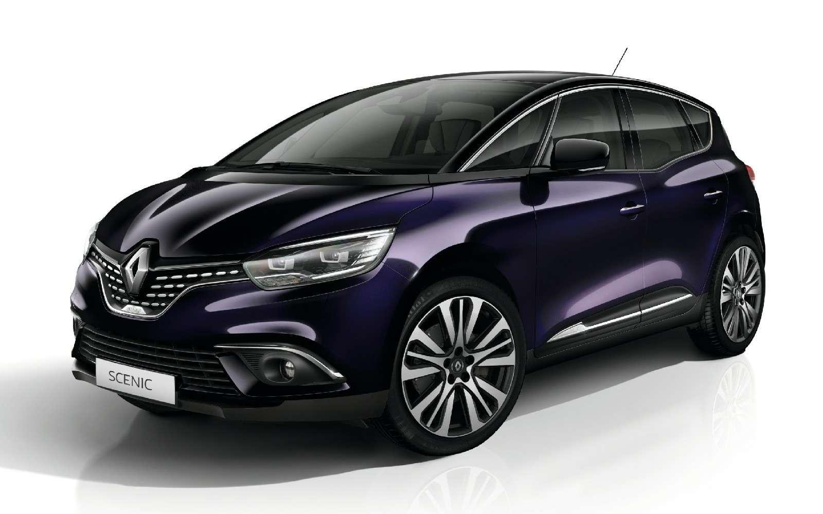 Парижский гламур: новый Renault Scenic стал еще красивее— фото 759168