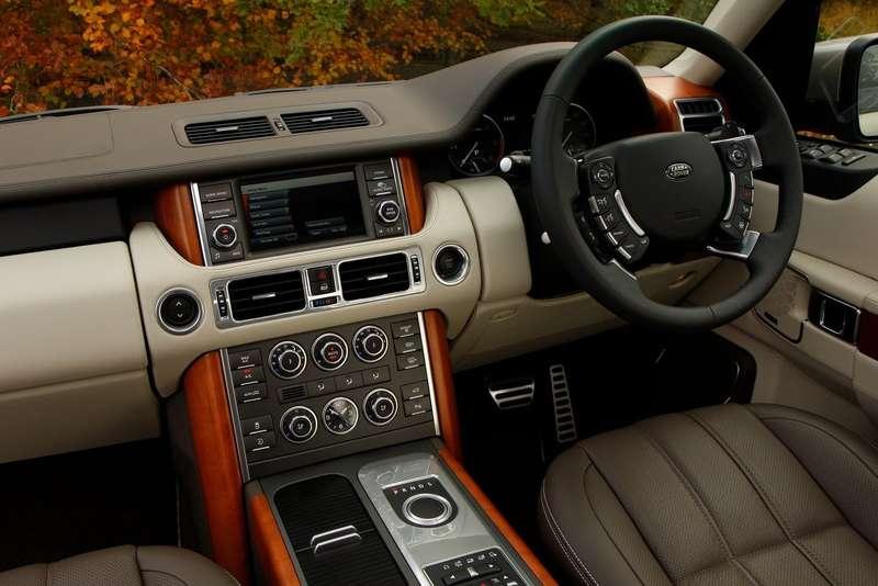 Current Land Rover Range Rover interior
