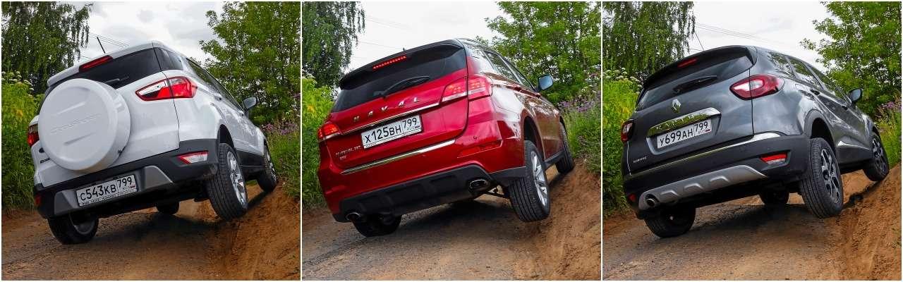 Большой тест кроссоверов: обновленный Ford EcoSport иконкуренты— фото 911191