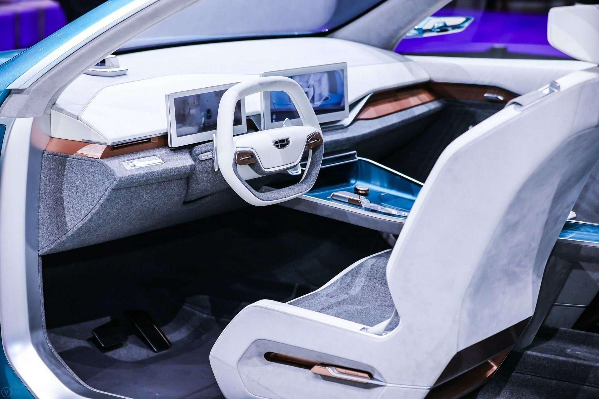 Geely представила вШанхае концептуальный седан PREFACE— фото 967219