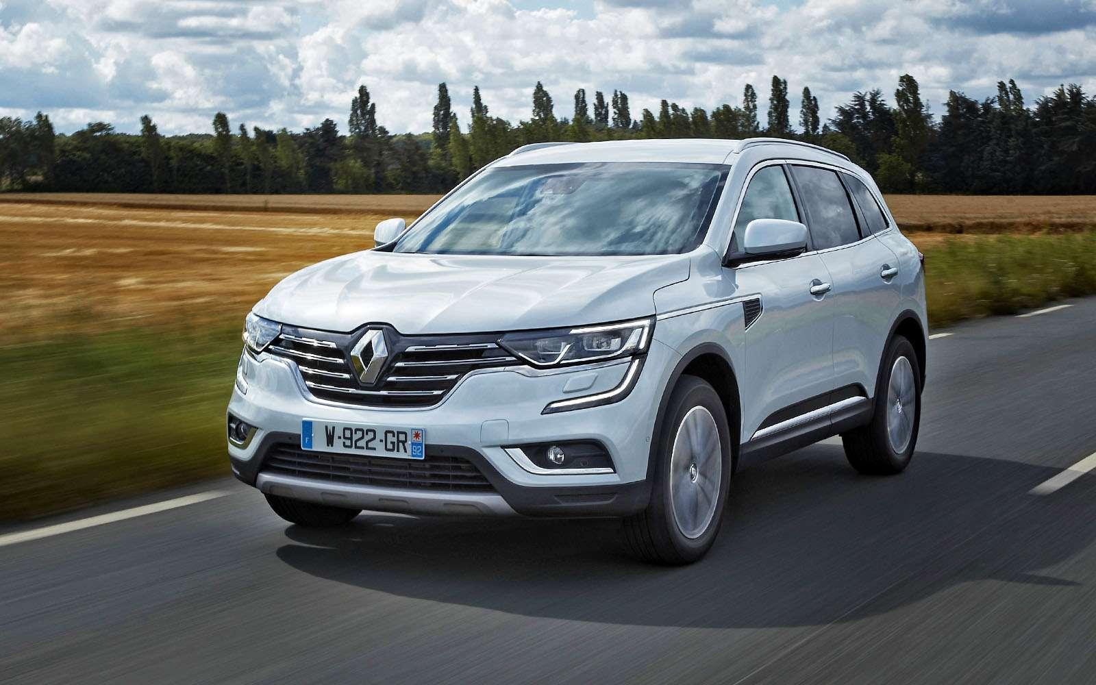 Renault Koleos второго поколения отлично выглядит иприятно едет