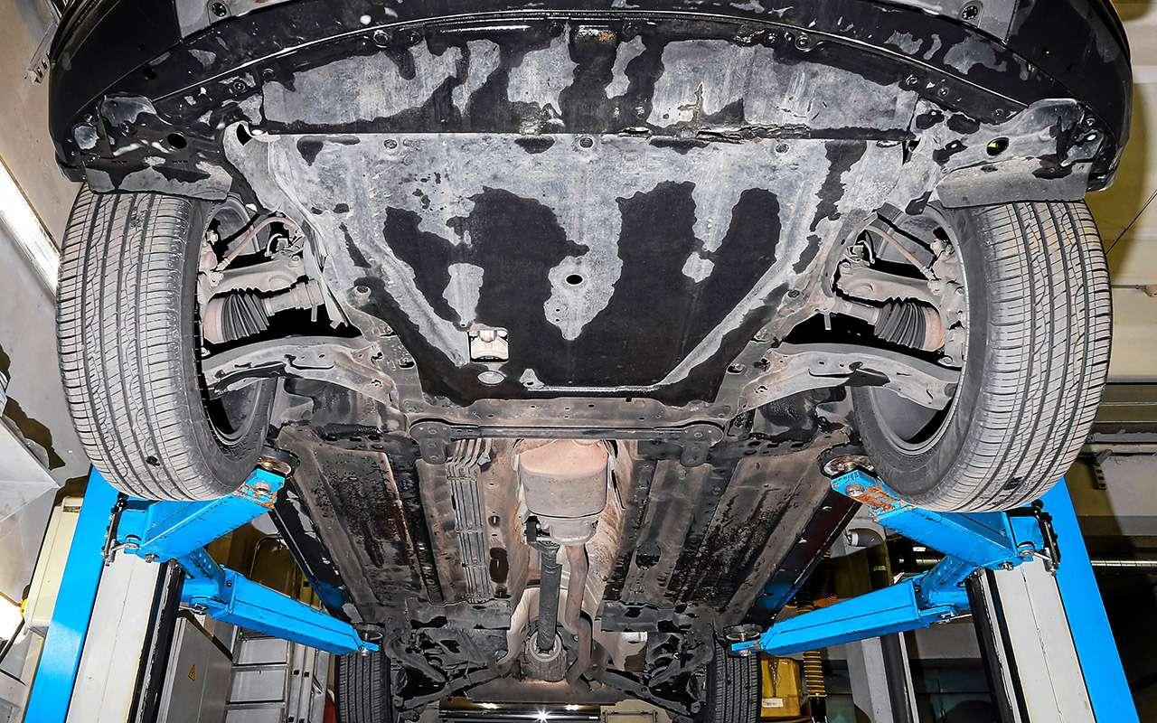 Hyundai Santa Feпротив конкурентов: большой тест кроссоверов— фото 931464