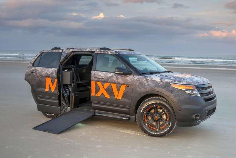 Внедорожник дляинвалидов BraunAbility MXV