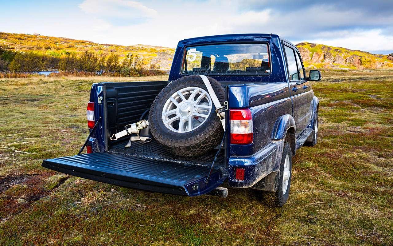 Тест обновленного УАЗа Пикап: мотор новый, косяки старые— фото 918427