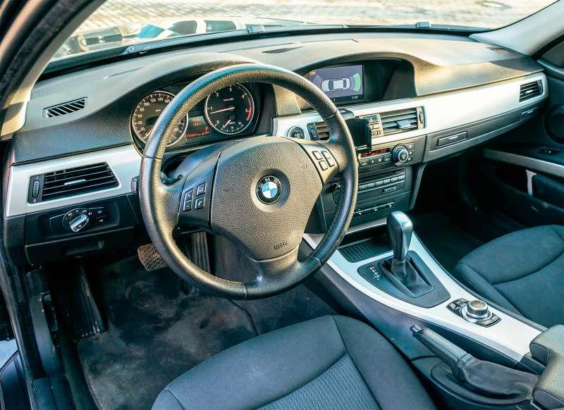 где находится датчик распредвала в BMW e46