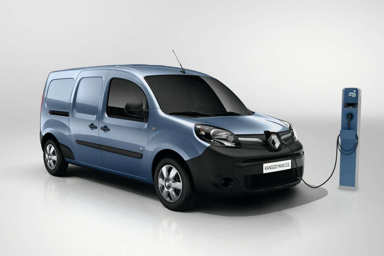 В модельном ряду Renault появилась еще одна «электричка»— фото 693602