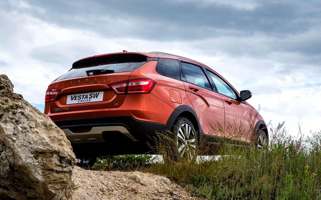 Лада Веста SWCross или Hyundai Creta: все «за» и«против»— фото 906717