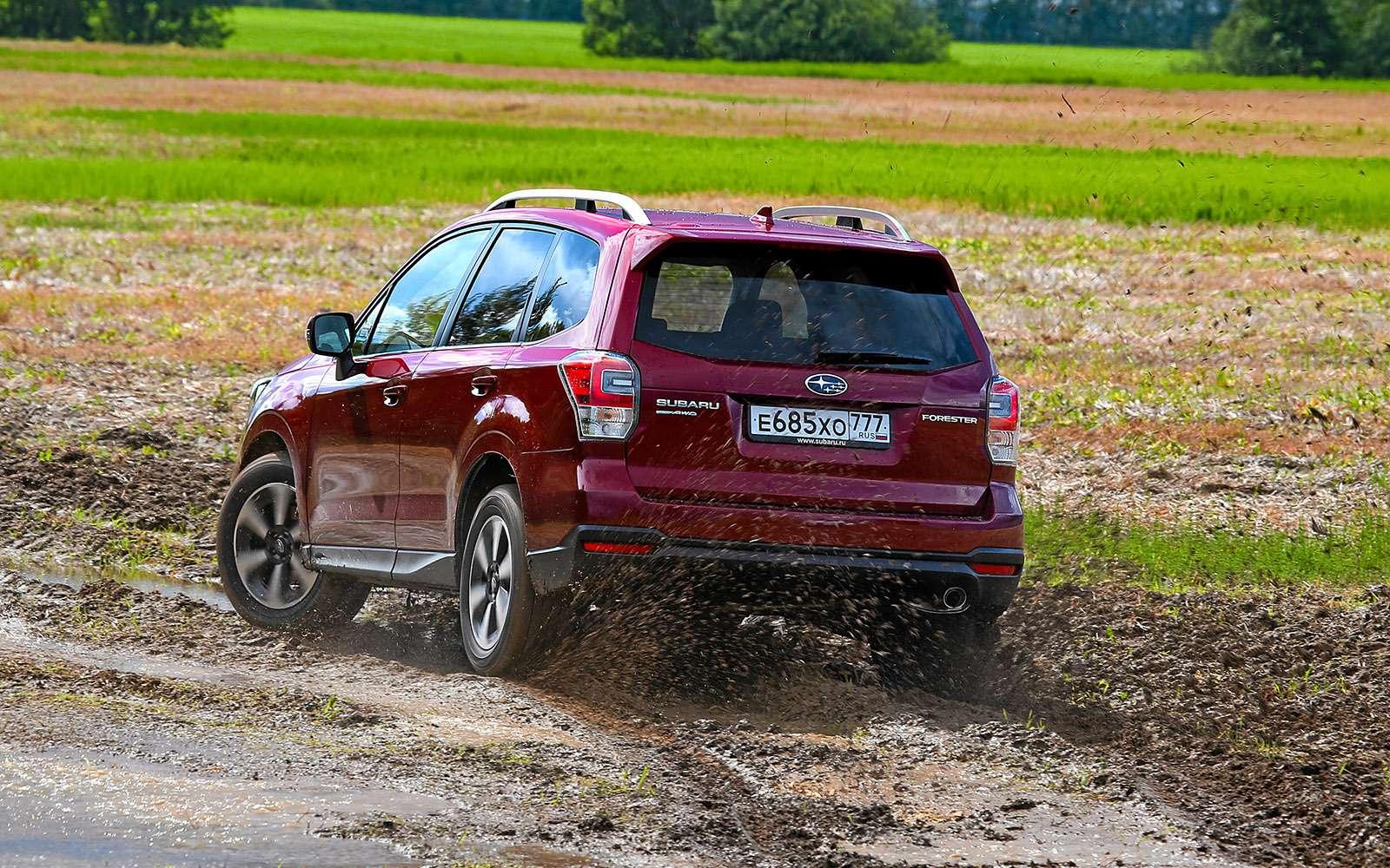 Новый Renault Koleos против конкурентов: буржуа, лесник иленивец— фото 780176