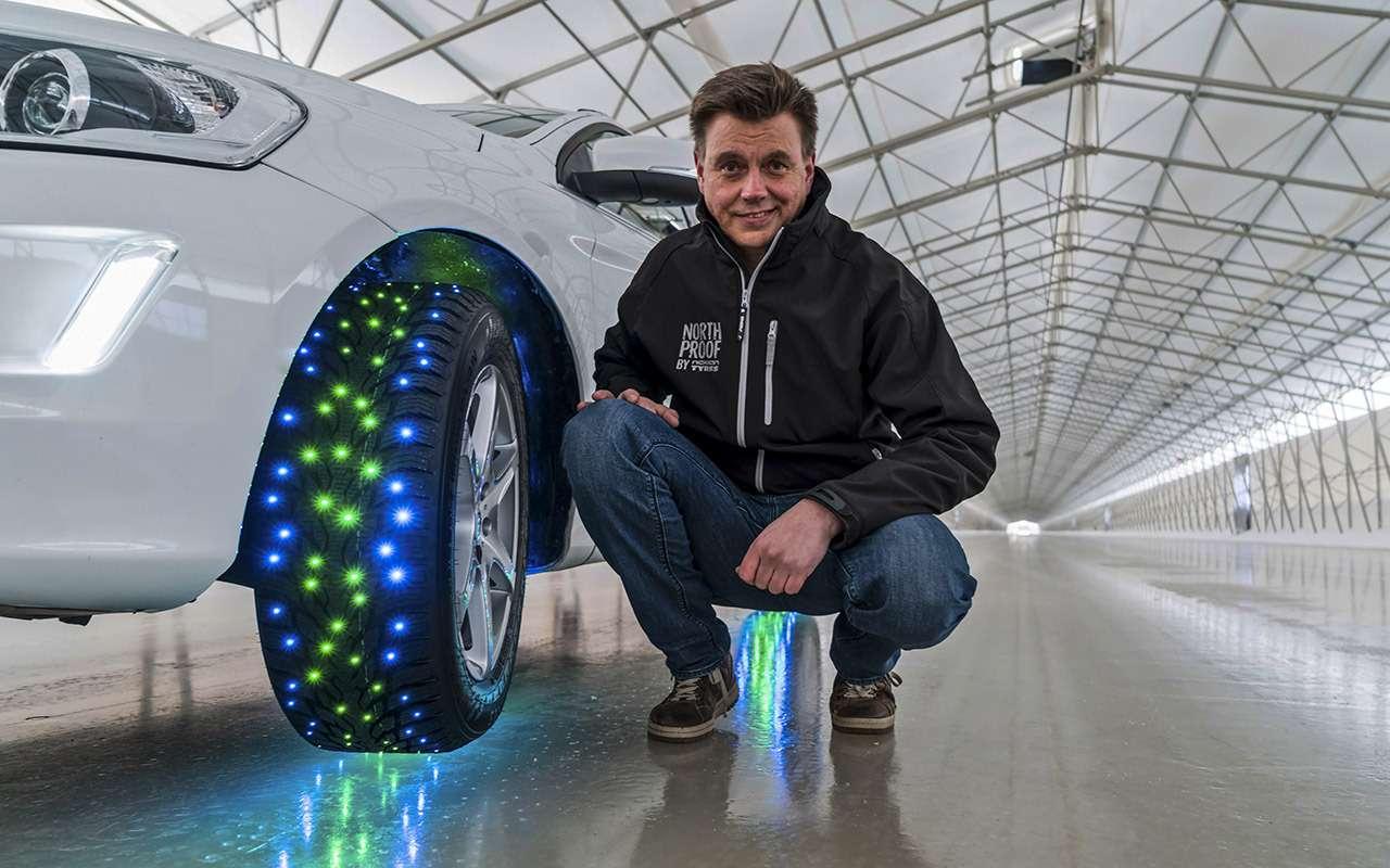 Новые модели зимних шин Nokian иNordman— тест ЗР— фото 794845