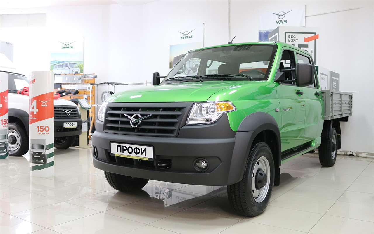 УАЗобновил грузовичок Профи— фото 928781