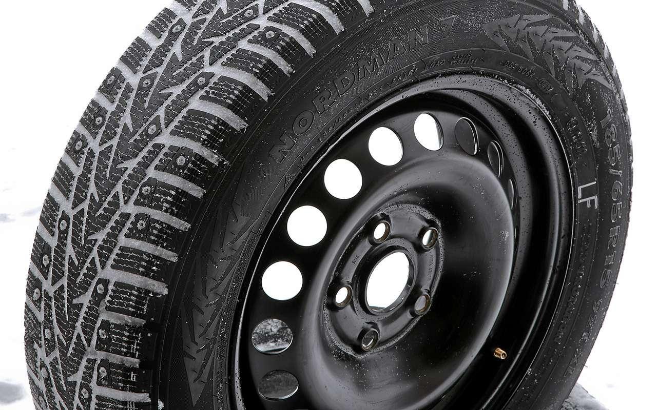 Шипованные шины 185/65R15для бюджетных автомобилей— тест «Зарулем»— фото 794354