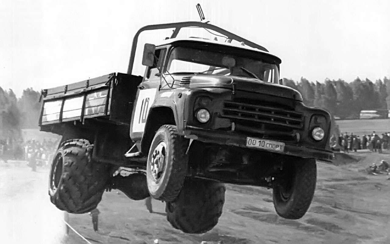 ЗИЛ-130на автокроссе