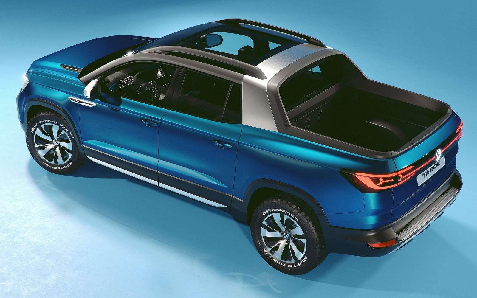 Volkswagen рассекретил новый пикап— фото 920535