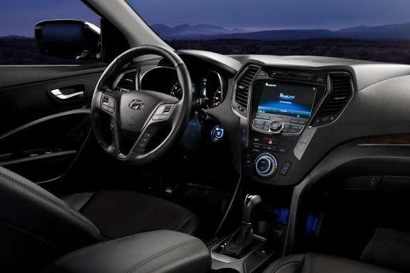 Hyundai Santa FeSport inside