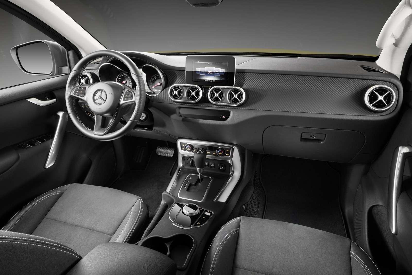 Mercedes-Benz X-класса: пружины вместо рессор— фото 776030