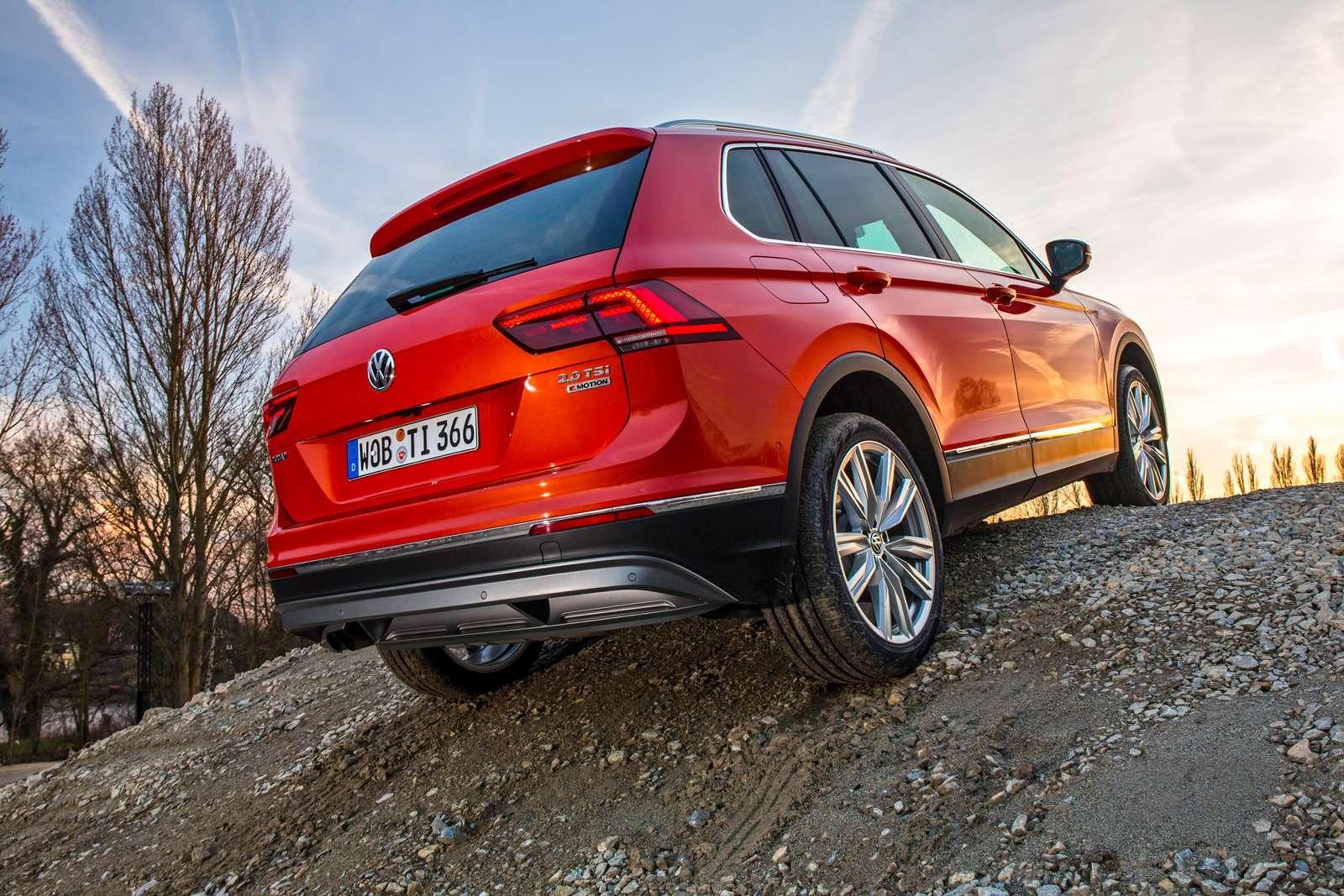 Тест нового Volkswagen Tiguan: победа экологов надавтоспортсменами— фото 594451