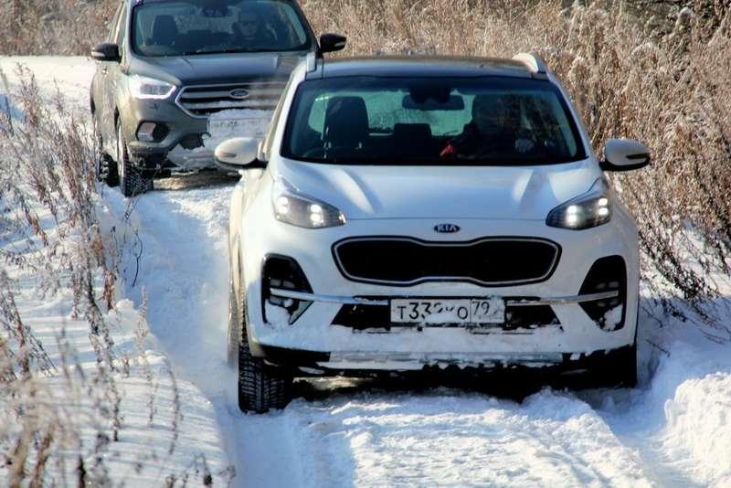 Тест Ford Kuga— Kia Sportage: крепкий орешек