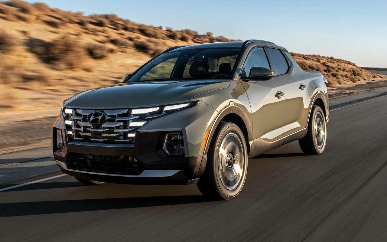 Новый Hyundai Santa Cruz— появились первые обзоры— фото 1269116