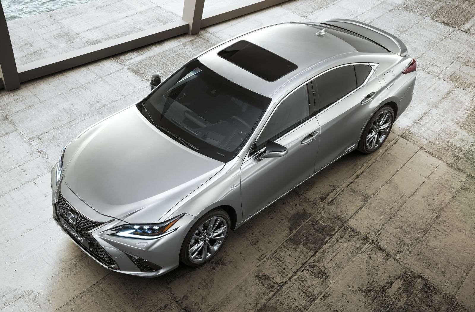 Новый Lexus ES: без полного привода итурбомоторов— фото 865660