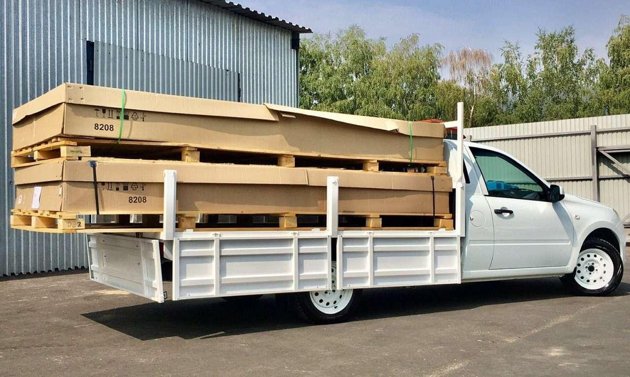 Гранта станет грузовиком грузоподъемностью втонну— фото 1270791