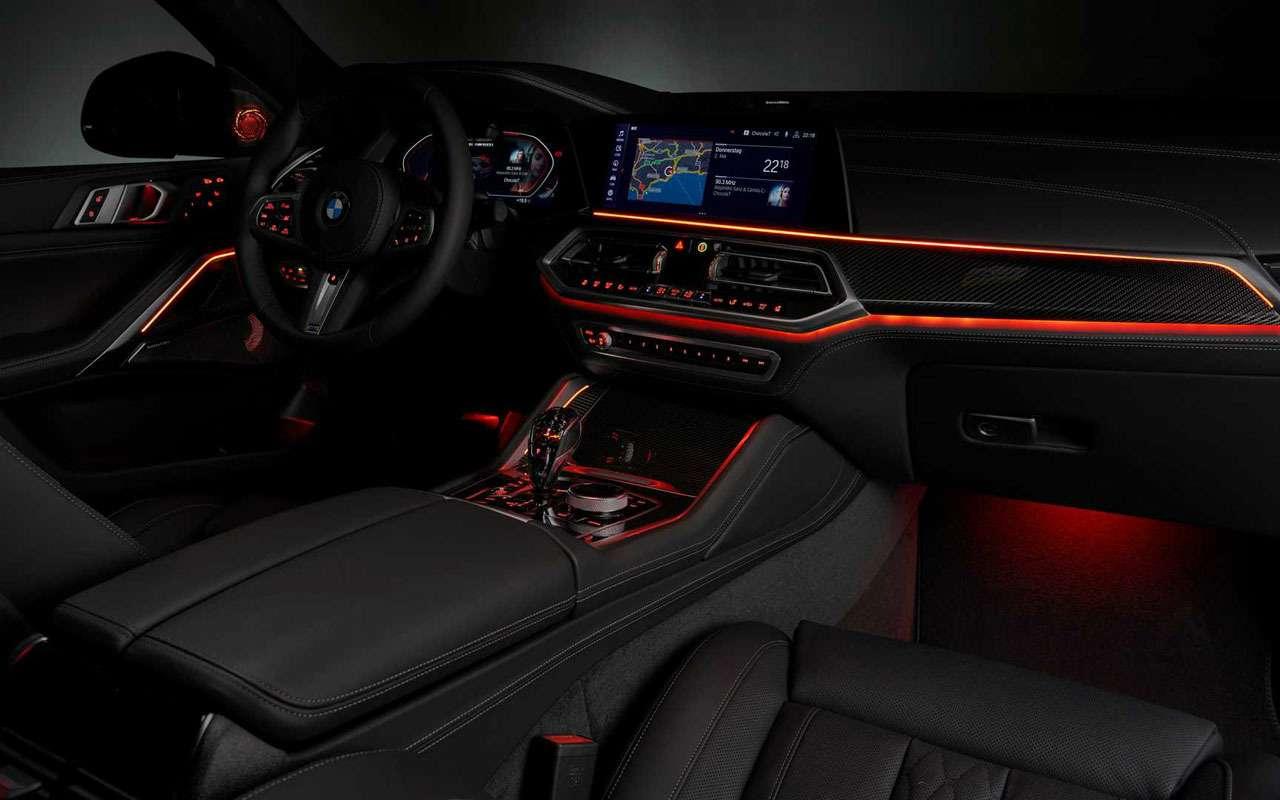 Новый BMW X6светится втемноте— фото 983970