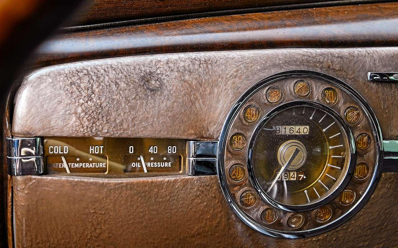 Packard Super Eight 1939: связей сэтим иностранцем можно небояться!— фото 893710