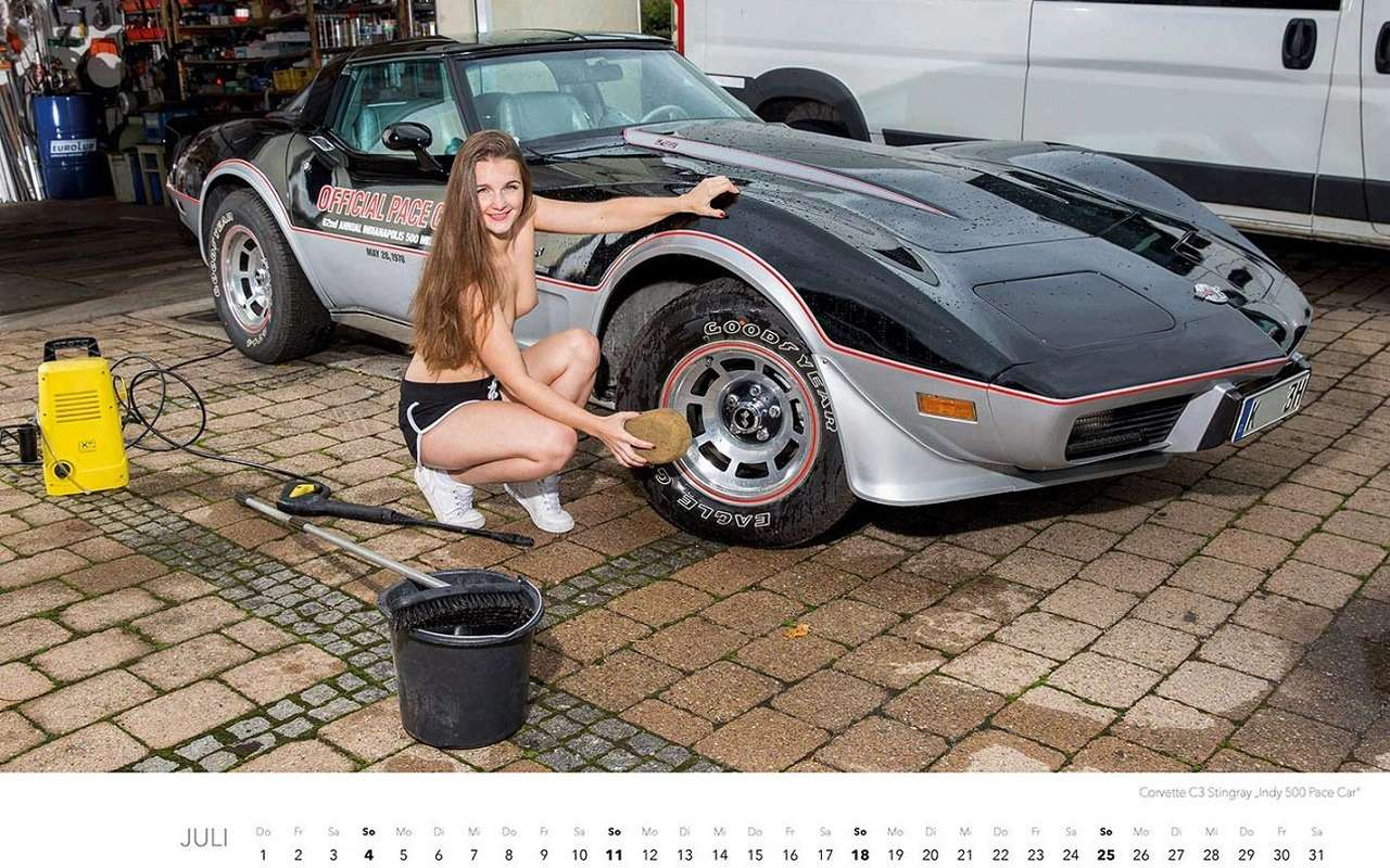 Девушки наавтомойке— пожалуй, лучший календарь 2021 года— фото 1203387