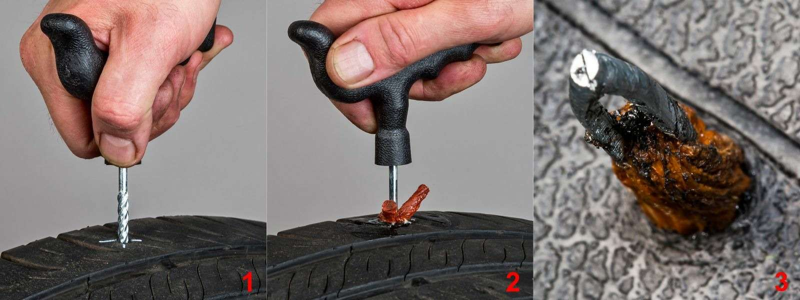Ремонтируем проколотую шину—  тест 16ремкомплектов исоветы ЗР— фото 771866
