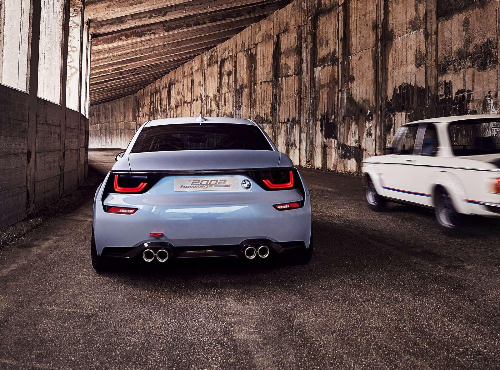 Иллюзия легенды: BMW поупражнялась натему 2002 turbo— фото 590513