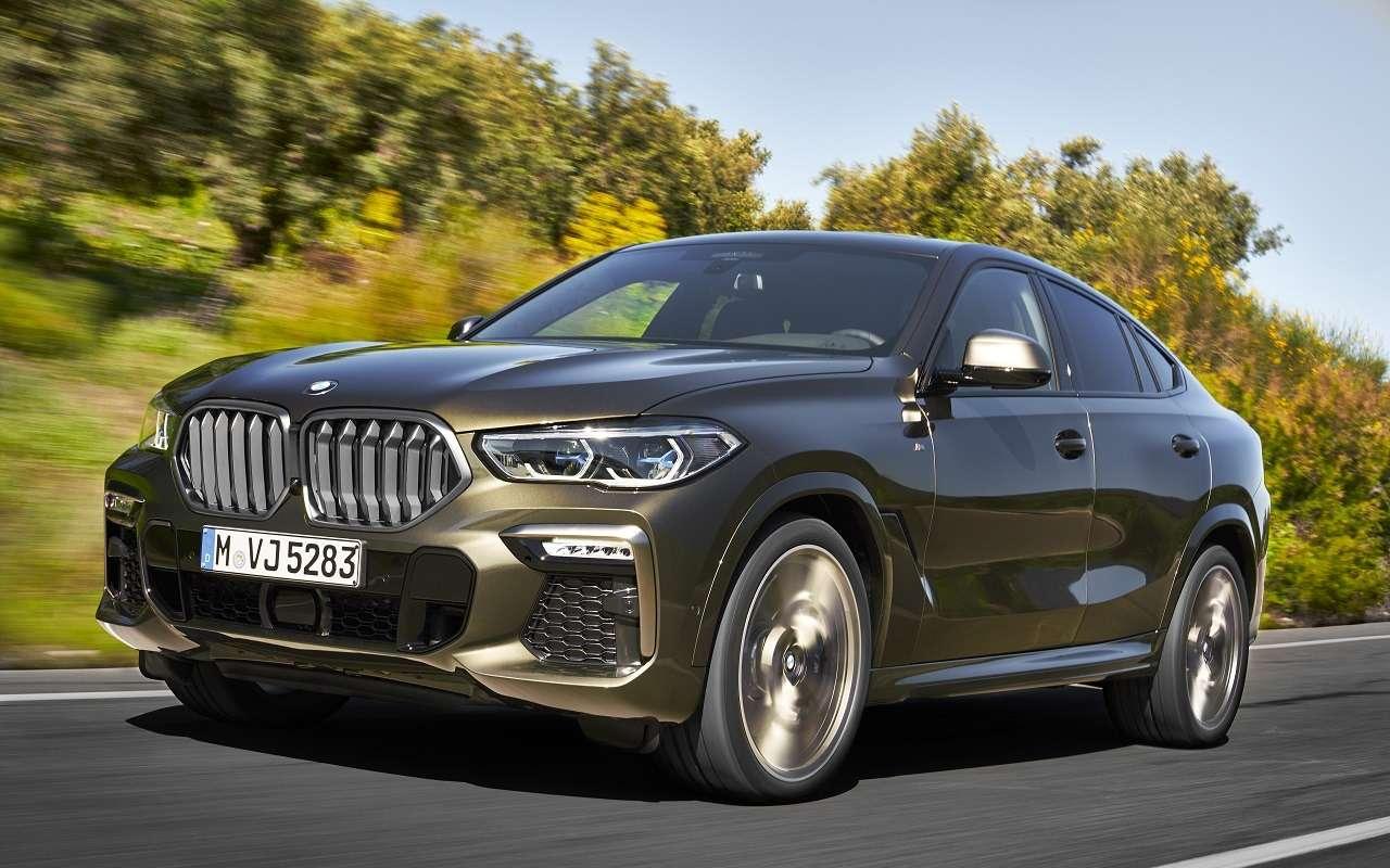 Потеря управления: вРоссии отзывают BMW X5и X6— фото 1222445