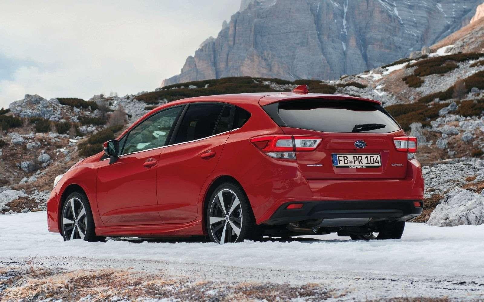 Новая Subaru Impreza— анонсирована европейская премьера— фото 770868
