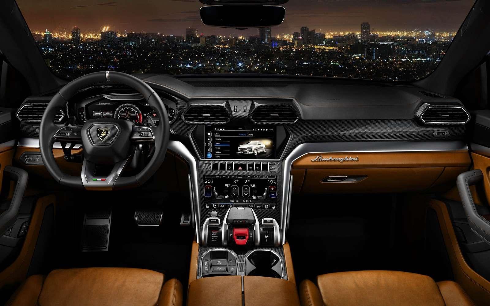 Lamborghini Urus: самый крутой кроссовер вмире— фото 823190